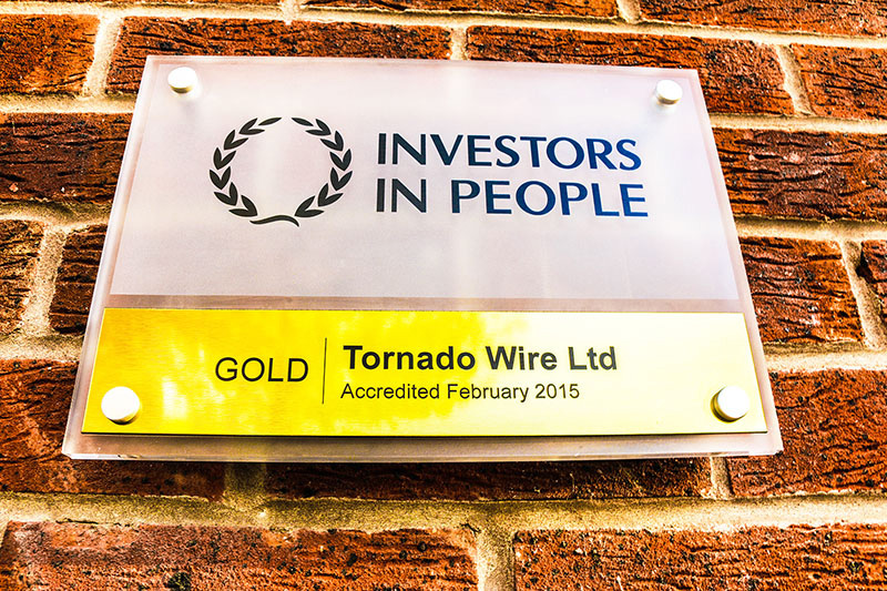 Investors in People wall plaque