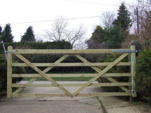 Gate-wooden